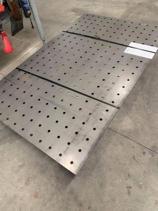 Lastafel boven blad, laser kwaliteit